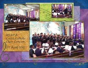 USAFA Cadet Catholic Choir Concert, p.1 of 2
