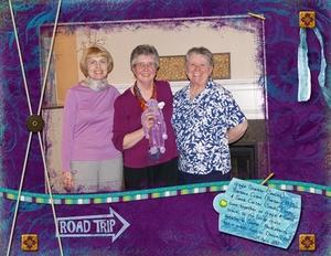 ScrapGirls road trip to Omaha meetup