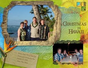 Christmas in Hawaii, 2005