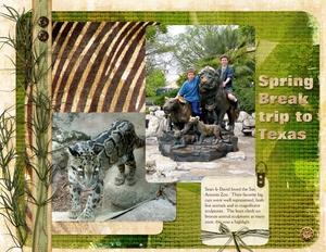 Spring Break - San Antonio Zoo, Speed Scrap