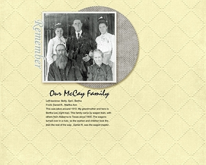 Our McCay Family