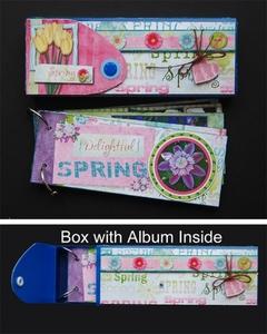 Tutorial: Hybrid Pencil Box and Album