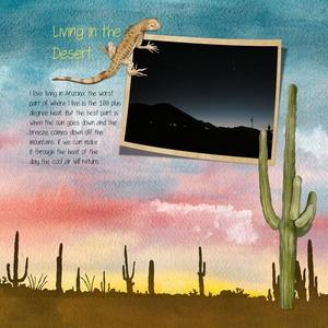 Mon 6/11: Living in the Desert