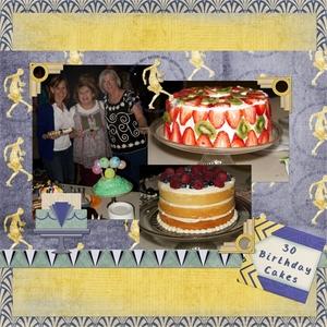 30 Birthday Cakes