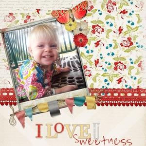 March: I love U sweetness