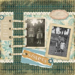 September ScrapClub Memory Lane