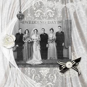 13dec14 sat colour chlg: Wedding Party