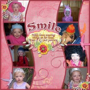 ScrapGirls Club Smile
