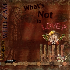 """Art Journaling Chat & NL Challenge April 2015 """"What's Not to Love?"""""""