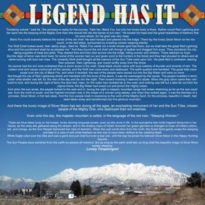 Mt. Timpanogos, UT Legend