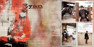Ryan cowboy double page
