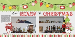 Ready for Christmas double page