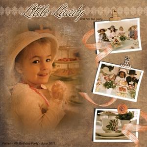 Little Lady Tea Party
