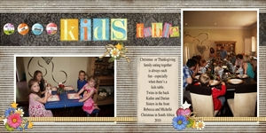 2 Page christmas with Family