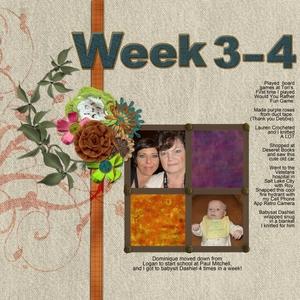 Week 3-4 Left