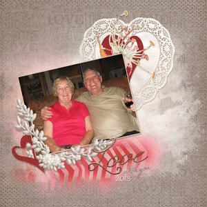 Aunt Joanne & Uncle Gary 2013