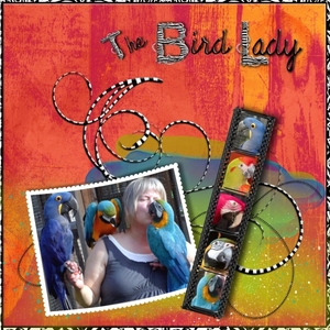 MAY MONTHLY CHALLENGE - THE BIRD LADY