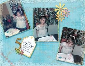 Kelle's 5th Birthday - 1976 A