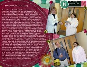 Karlynn's Birth Story - Layout 1