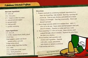Healthy recipe swap