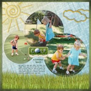 Tue 5/22 - Golf: A Contact Sport