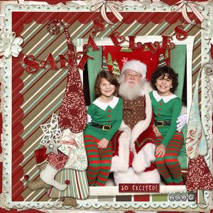 2014-12-13 Sat Color Challenge - Santa's Elves