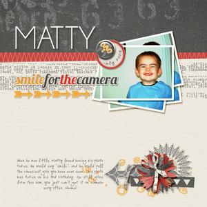 Sketch challenge - Matty 600