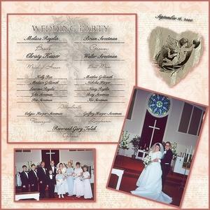 My Wedding 9-16-00