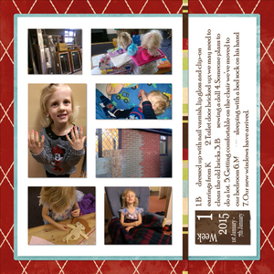 Project Life 2015 week 1