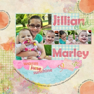 Jillian and Marley