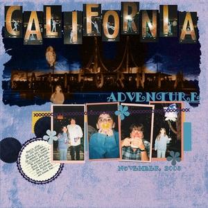 DSD Template Challenge - California Adventure