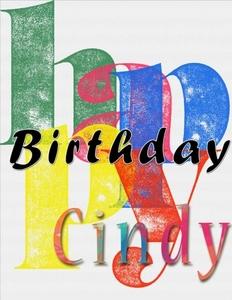 Happy BirthdayPoster