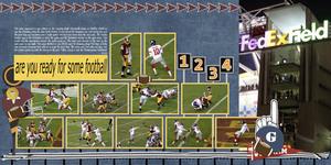 Redskins V Giants