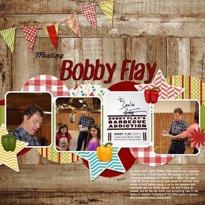 Meeting Bobby Flay
