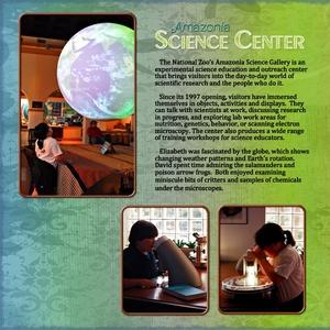 Amazonia Science Center, left