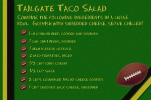 Tailgate Taco Salad