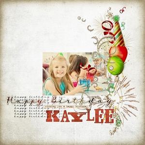 Happy Birthday Kaylee