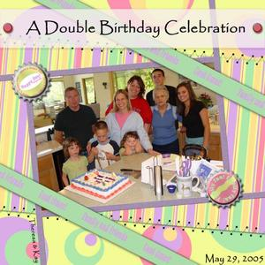 A Double Birthday Celebration