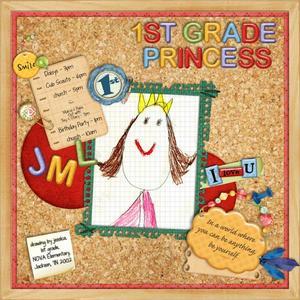 1ST Grade Princess
