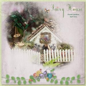 Fairy House at Powell Gardens