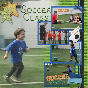 Case of the Mystery Layout - Soccer Class