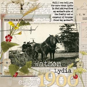 Watson and Lydia