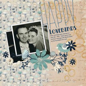 Happy Lovebirds