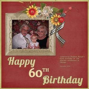 Grandpa's 60th Bday