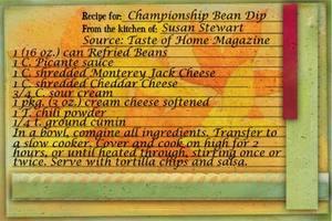 Championship Bean Dip
