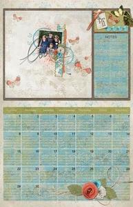 Calendar Page April