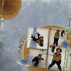 Darren Skating