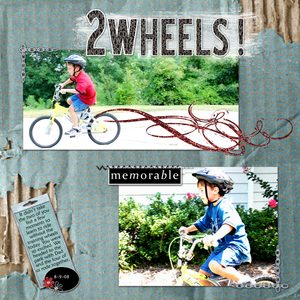 2 Wheels!