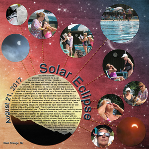 """Tuesday Challenge 9/5/17- Event: """"Solar Eclipse 2017"""""""