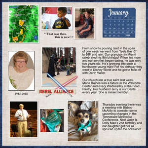 Project Life, week 04, 2018